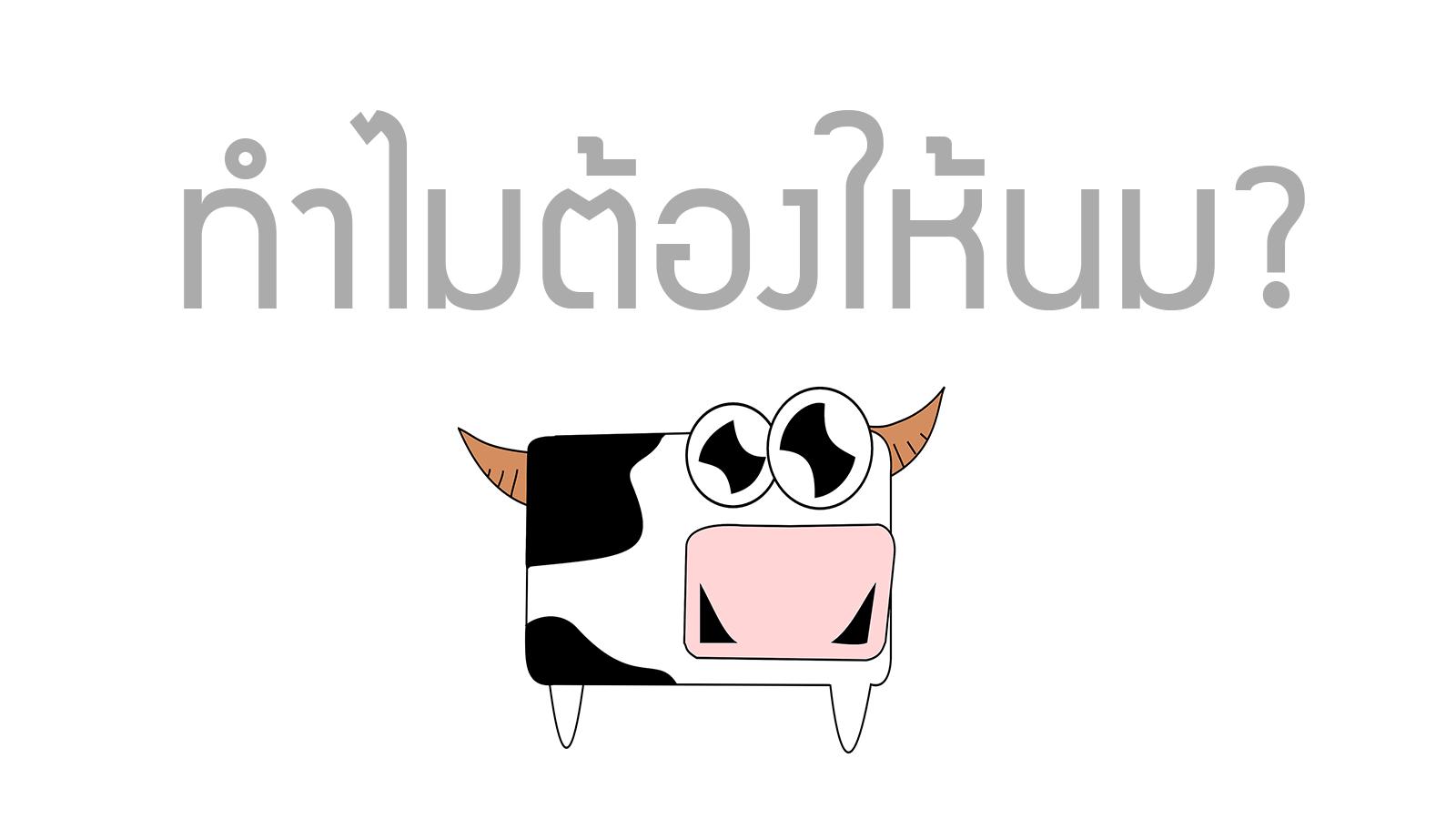 Milk why milk