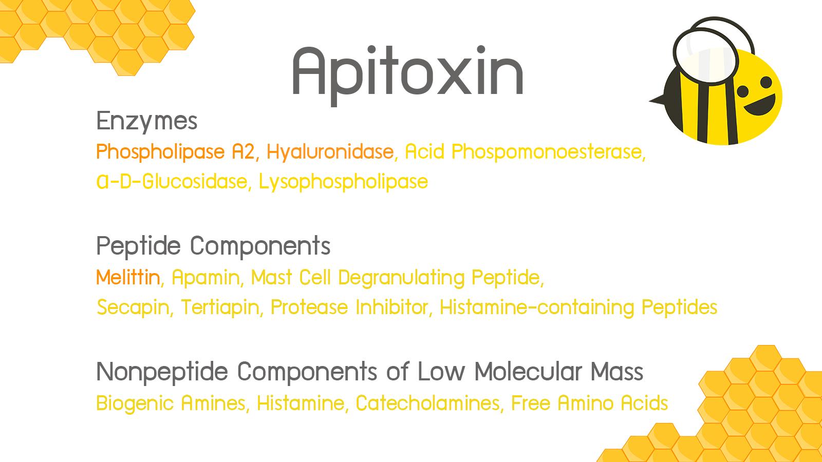 apitoxin พิษผึ้ง